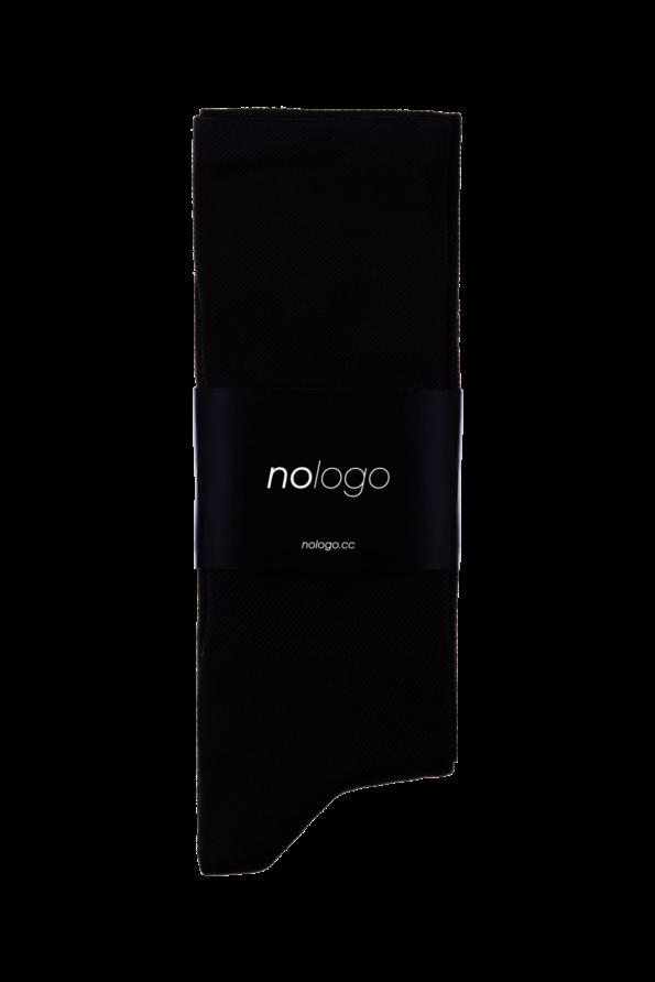 nologo schwarze radsocken produktfoto