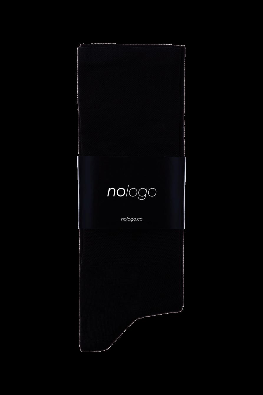nologo black cycling socks product photo