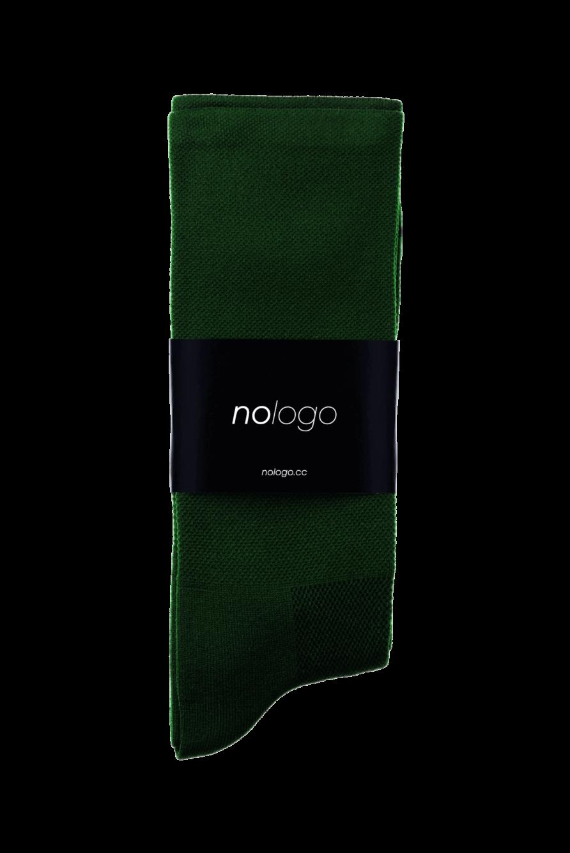 nologo green cycling socks product photo