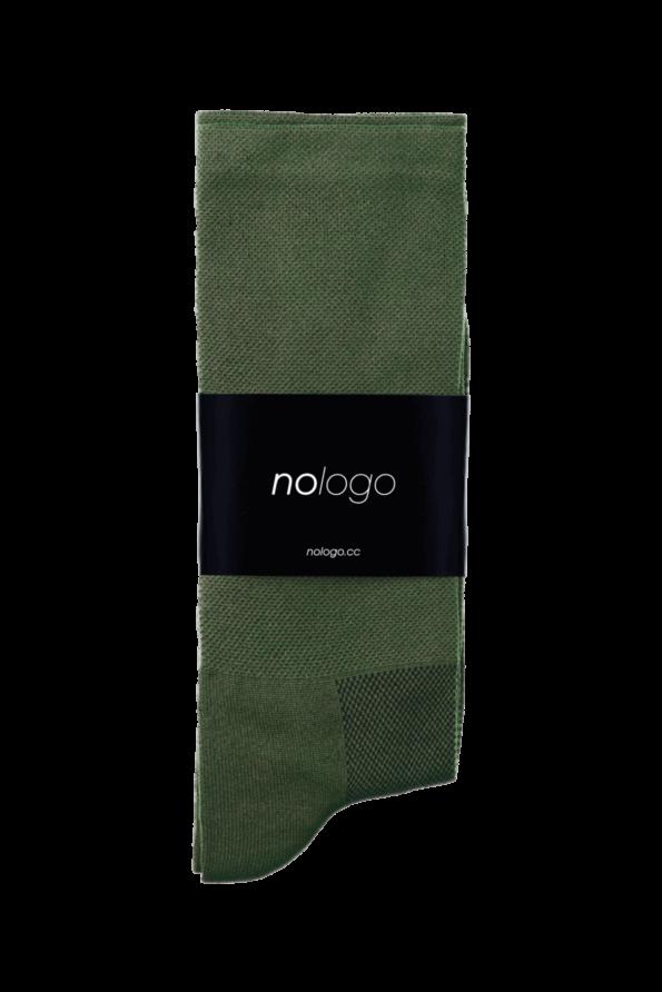 Produktfoto von Nologo Khaki Green Cycling Socks