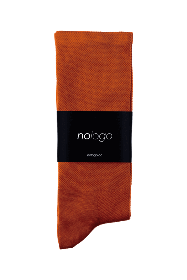 nologo ochre cycling socks product photo