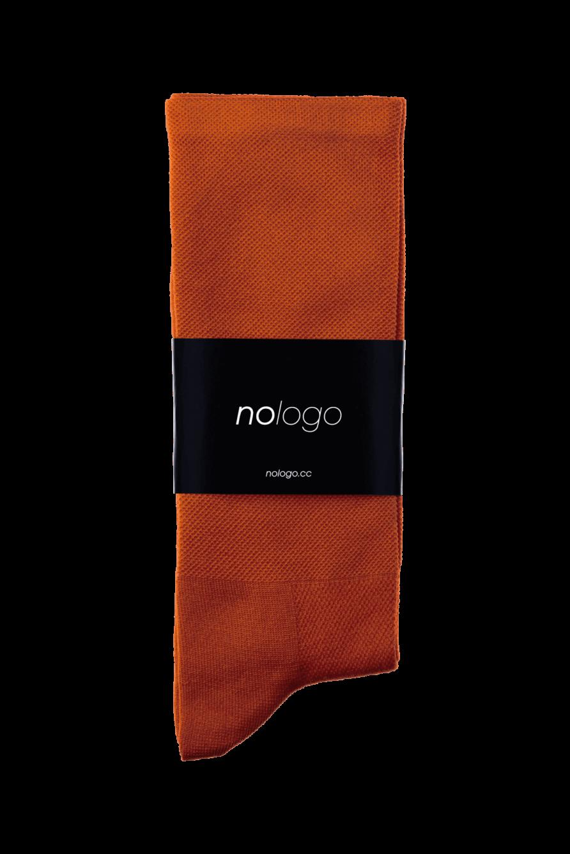 nologo ochre cycling socks product photo