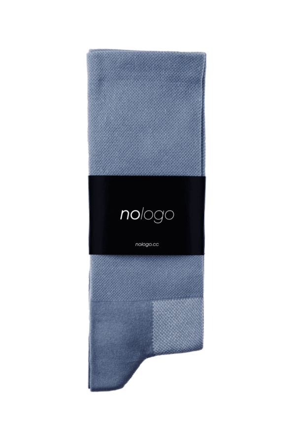 nologo slate gray cycling socks product photo